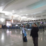 Moderna terminal Aeropuerto Cairo