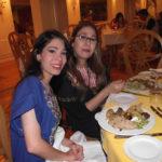En la cena de Gala