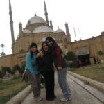 Elianny, Vanessa y Carol en la Mezquita