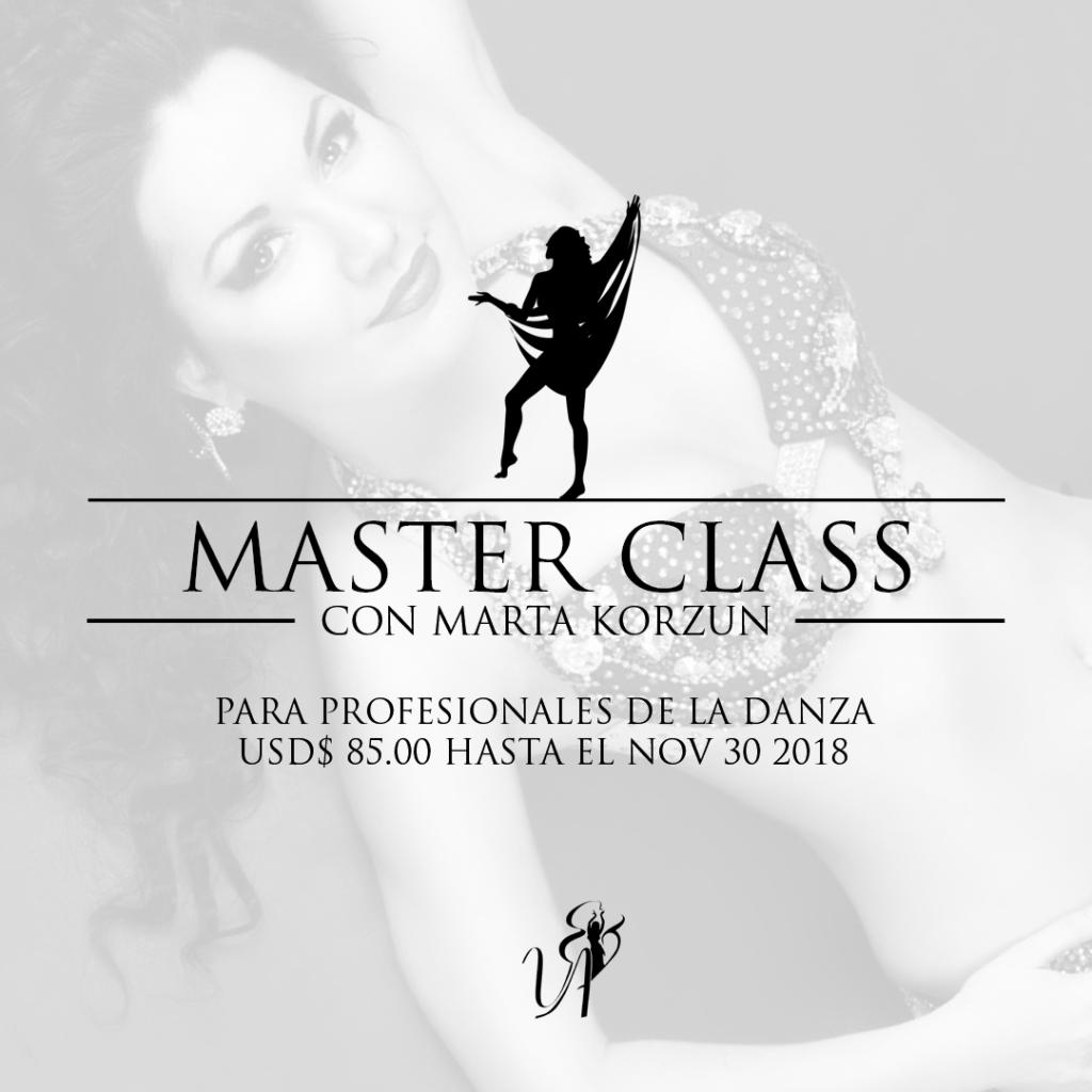 CLASS MASTER MARTA KORZUN